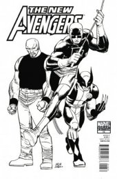 The New Avengers #16 Arch Sketch Variant