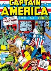 captain america comics #1