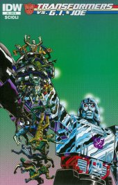 Transformers vs. G.I. Joe #9 Retailer Incentive