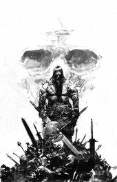 Conan the Barbarian #1 Comic Mint Exclusive Gerardo Zaffino Virgin Inks Variant