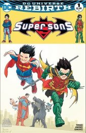 Super Sons #1 The Hall of Comics Exclusive Frank Quitely Color Bat-Mite Variant