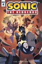 Sonic the Hedgehog #4 1:10 Incentive Variant