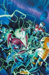 Mighty Morphin Power Rangers #54 1:25 Campbell incentive cover