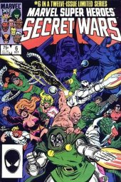 Marvel Super Heroes: Secret Wars #6