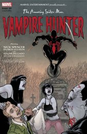 The Amazing Spider-Man #50 Spider-Man Vampire Hunter Variant Cover by Aaron Kuder