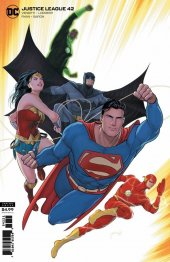 Justice League #42 Card Stock Variant Edition