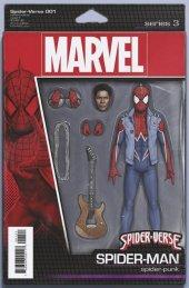 Spider-Verse #1 John Tyler Christopher Action Figure Variant