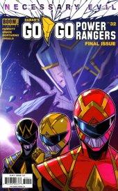 Go Go Power Rangers #32 Original Cover