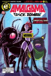 Amalgama Space Zombie #2 Cover B Young Risque