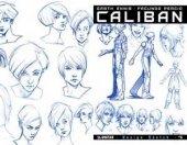 Caliban #4 Design Sketch