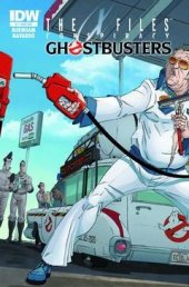 The X-Files: Conspiracy - Ghostbusters #1 Subscription Variant