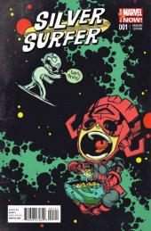 Silver Surfer #1 Young Variant