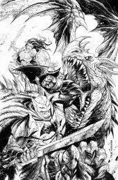 Dark Nights: Metal #1 Tyler Kirkham Coloring Book Cover