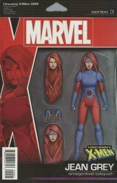 Uncanny X-Men #9 Christopher Action Figure Variant