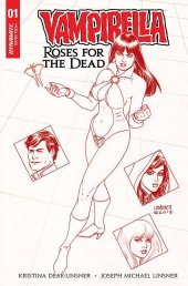 Vampirella: Roses for the Dead #1 Dynamic Forces Exclusive Linsner Variant