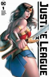 Justice League #1 Warren Louw Variant A