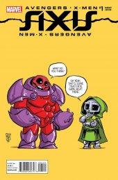 Avengers & X-Men: Axis #1 Skottie Young Baby Variant