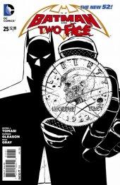 Batman and Robin #25 Sketch Variant