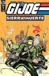 G.I. Joe: Sierra Muerte #1 Original Cover