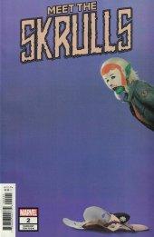 Meet the Skrulls #2 Rahzzah Variant
