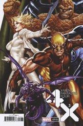 X-Men / Fantastic Four #3 Brooks Variant