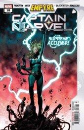 Captain Marvel #18 Original Cover