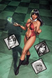 Vampirella: Roses for the Dead #1 Cover C 1:10  Cover Linsner Virgin
