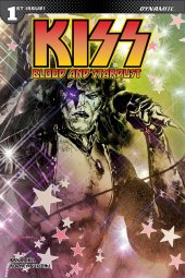 Kiss: Blood And Stardust #1 1:40 Sanapo Virgin Cover