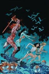 Red Sonja & Vampirella Meet Betty & Veronica #10 Gedeon Ltd Virgin Zombie Cover