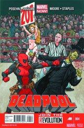 Deadpool #4 2nd Printing