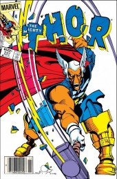 The Mighty Thor #337 Newsstand Edition