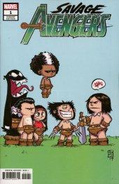 Savage Avengers #1 Skottie Young Variant
