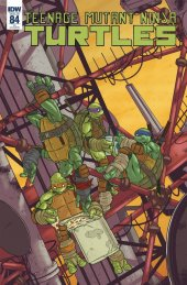 Teenage Mutant Ninja Turtles #84 1:10 Incentive Variant