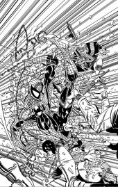 The Amazing Spider-Man #1 1:2000 B&W Remastered Cover