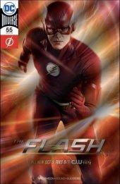 The Flash #55 DC Boutique Exclusive Silver Foil Photo Variant
