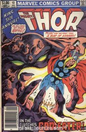 The Mighty Thor Annual #10 Newsstand Edition