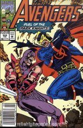 The Avengers #344 Newsstand Edition