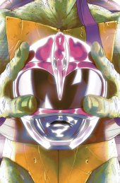 Mighty Morphin Power Rangers / Teenage Mutant Ninja Turtles #4 Cover C Donatello Montes