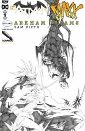 Batman / The Maxx: Arkham Dreams #1 Albert Moy & Torpedo Comics Jae Lee Sketch Variant Cover