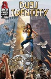 Duel Identity #2 Cover B Gold Holographic Foil