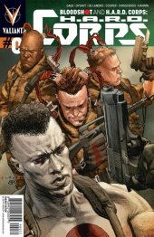 Bloodshot and H.A.R.D. Corps #0 Lewis LaRosa Variant