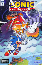 Sonic the Hedgehog #1 Spencers Exclusive Variant