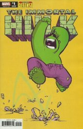 The Immortal Hulk: The Best Defense #1 Skottie Young Variant