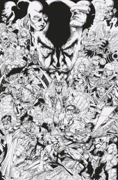 Uncanny X-Men #1 1:1000 Quesada B&W Hidden Gem Variant