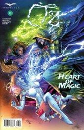 Oz Heart Of Magic #3 Cover B Santamaria