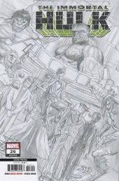 The Immortal Hulk #26 2nd Printing Variant by Alex Ross