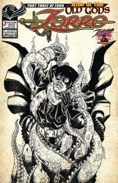 Zorro: Rise of the Old Gods #3 Cover B Ltd Pulp