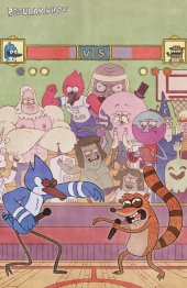 Regular Show #14 Jake Wyatt Virgin Variant
