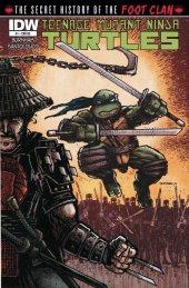 Teenage Mutant Ninja Turtles: The Secret History of the Foot Clan #1 Re Jetpack A