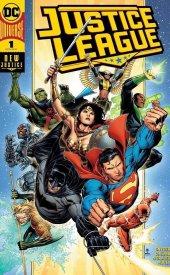 Justice League #1 DC Boutique Exclusive Gold Foil Variant